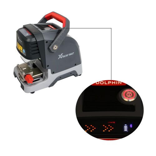 (EU UK RU Ship No Tax) Xhorse DOLPHIN XP005 Automatic Key Cutting Machine with Battery inside