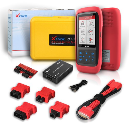 (UK,US Ship ,No Tax) XTOOL X100 Pro2 Auto Key Programmer Mileage Adjustment including EEPROM Adapter Free Update