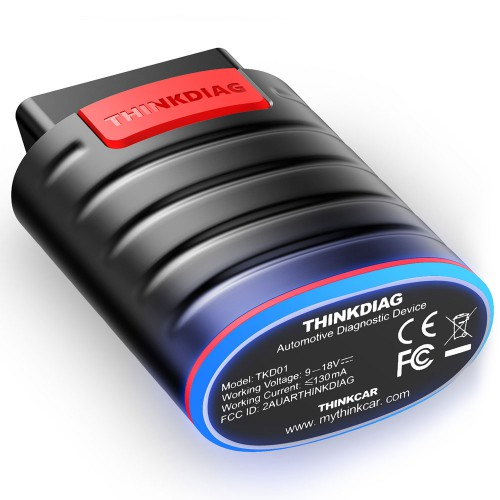 (US Ship No Tax) THINKCAR Thinkdiag OBD2 Full System Power than Easydiag Diagnostic Tool with 3 Free Software