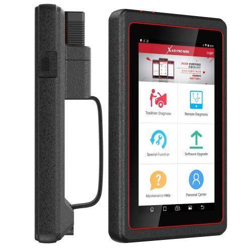 (EU US Ship No Tax ) Launch X431 Pro Mini Bi-Directional Diagnostic Tool 2 Years Free Update Online