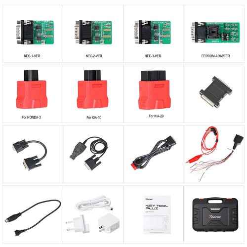 (US/EU/UK in Stock) XHORSE VVDI KEY TOOL PLUS Key Programmer Advanced Version Supports Benz BMW VW AUDI All in 1