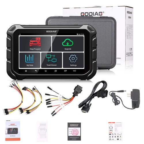 GODIAG GD801 ODOMASTER OBDII Mileage Correction Tool Better Than OBDStar X300M