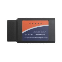WIFI ELM327 Wireless OBD2 Auto Scanner Adapter Scan Tool for iPhone iPad iPod Software V2.1 Hardware V1.5