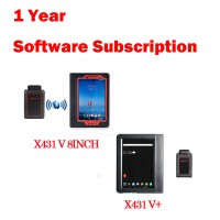 1 Year Online Software Update Service for Launch X431 Gasoline Scanners