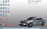V2019.12 BMW ICOM Latest Software HDD ISTA 4.20.31 ISTA-P 3.67.0.000 with Engineers Programming Windows 7 System