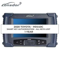 Lonsdor 2018 2019 2020 Toyota Lexus AKL Online Calculation 1 Year Activation for K518ISE & KH100+