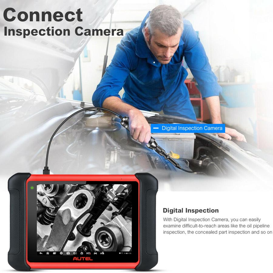 Autel MaxiCom MK906BT inspection camera